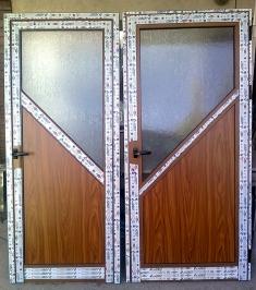 Алуминиева врата 12