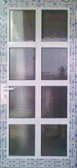 Алуминиева врата 16
