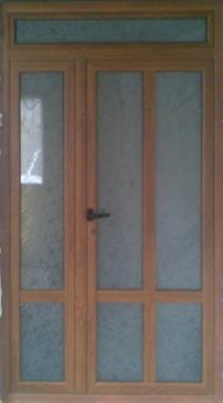 Алуминиева врата 19